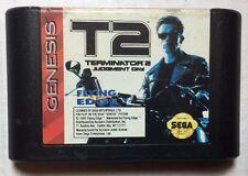 T2: The Arcade Game (Sega Genesis, 1992) Cartridge only