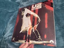 U2 RATTLE And HUM Laserdic LASER DISC ~  Free Shipping!