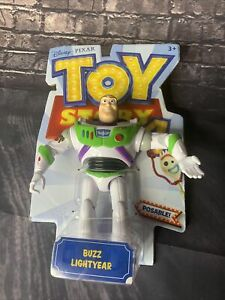 Toy Story 4 Disney Pixar Buzz Lightyear  Posable Action Figure