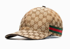 GUCCI Beige Supreme GG Cap Hat M BNWT - 100% Authentic
