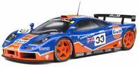SOLIDO 1804101 or 1804102 McLaren F1 GTR diecast race car Gulf Le Mans 1996 1:18