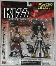 Kiss Psycho Circus Peter Criss & Animal Wrangler Moc McFarlane Toys 1998