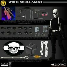 Mezco One:12 White Skull: Agent IN HAND *RARE ONLY 500 MADE*