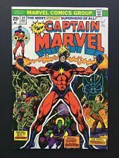 CAPTAIN MARVEL #32. 1974. Marvel Comics.