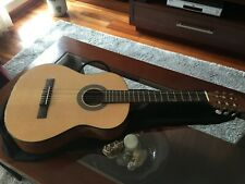 Guitarra clásica (90cm) para niños + funda + afinador