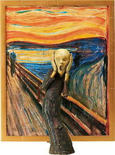 Freeing Figma 086 Edvard Munch The Scream Table Museum Action Figure