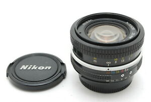 【N MINT+++】Nikon Nikkor Ai Converted 20mm f/4 MF Lens From JAPAN