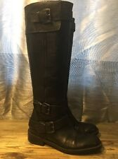 Enzo Angolini Easaylem Knee High Side Zip BOOTS Size 6.5 M