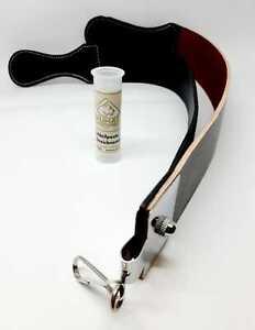 2er Set PUMA Streichriemenpaste+Lederriemen Streichpast Leder Strop zum Schärfen