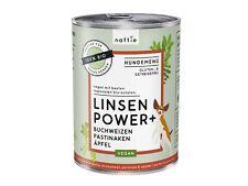naftie Bio Linsen Power+ veganes Hundefutter Nassfutter Menü, 12x400g