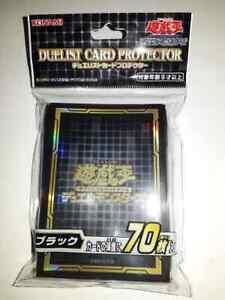 Yugioh Duelist Card Protector: Black 2020 - Sleeves
