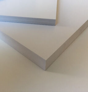 PVC Integralschaumplatten 4 / 10 / 19 mm  wetterfest Konstruktionswerkstoff