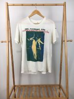 RARE VTG The Flaming Lips Thai Sonic Youth Band Single Stitch 80s T-Shirt XL USA