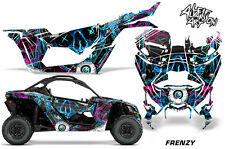 Full UTV Decal Graphics Kit Wrap For Can-Am Maverick X3 DS RS 2016-2018 FRENZY U