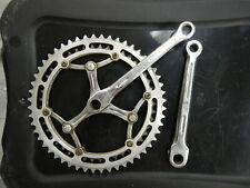 Stronglight 170 crankarms with a Simplex 45 and 52 tooth chain-rings 1950's