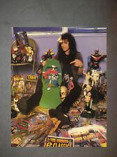 Metallica Kirk Hammett Zorlac Promo Photo 8x10 Master Puppets Kill 'Em All