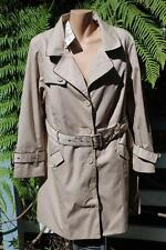 Stylish AUTOGRAPH RRP$129.00 Neutral Stone Trench JACKET Size 14 NEW Long Sleeve