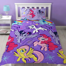 My Little Pony Cinéma Simple Rotatif Set Housse de couette Violet - 2 en 1