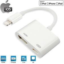 For iPad to HDMI Adapter For Lightning to Digital AV HDMI 4K USB Cable Connector
