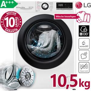 LG Waschmaschine A+++ 10,5 kg 1400 U/min Direktantrieb Dampf Frontlader AI DD