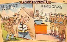 (984)  Vintage Military Comic Postcard U.S. Army
