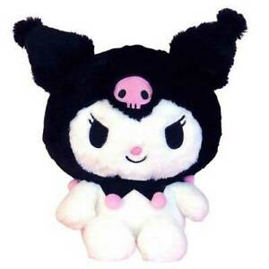 Adorable deluxe quality Kuromi plush. Authentic Japanese Import Sanrio product