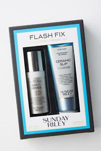 SUNDAY RILEY Flash Fix Set Good Genes & Ceramic Slip Set - NEW in Box