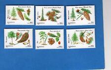 Romania Scott #4115-4120 MI #5202-5207 Forest Flora Unused Set of 6 stamps NH OG
