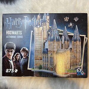 Harry Potter Hogwarts Castle 3-D Puzzles Astronomy Tower 2016 Wrebbit 3D Sealed