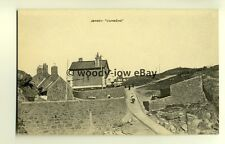 tp7768 - Jersey C.I. - View of Cottages up the Hill at La Corbiere - postcard