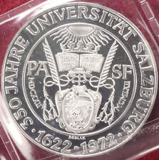 Austria 50 Schilling 1972 Salzburg University Mint Sealed (E0901)