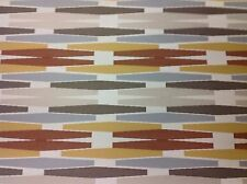 Sunbrella/Silver State Geometric OUTDOOR Fabric- Boogie/Brown Eyes- 4.10 yds