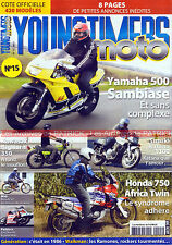 YOUNGTIMERS MOTO 15 Test SUZUKI GSX 1100 S Katana HONDA XRV KAWASAKI 350 BigHorn