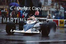 Nelson Piquet Brabham BT52 Monaco Grand Prix 1983 Photograph 7