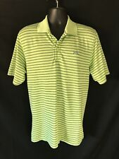 Under Armour Short Sleeve Pullover Polo Shirt Size M Loose Heatgear