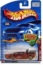 2002 Hot Wheels #55 Wild Frontier '59 Chevy Impala E910 crd