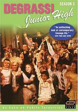 Degrassi Junior High - Season 3 (DVD 3-Disc Set) NEW sealed