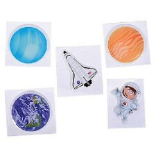 Bulk Wholesale Job Lot 360 Puffy Space Stickers Toys