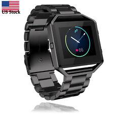 Stailess Steel Bracelet Strap Watch Band For Fitbit Blaze Smart Watch Fast USPS