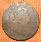 1798 Large Cent, Penny, 2nd hair style, 1797 Reverse, Close Date, 1C