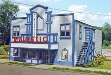 Branchline Lase Art Building Kit HO Majestic Theater  #654   Bob The Train Guy
