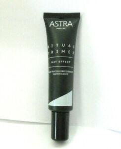 Astra Make Up Primer Ritual base trucco perfezionante lissante acido ialuronico