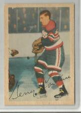 "1953-54 Parkhurst Hockey Gerry ""Doc"" Couture Card # 84 EX Condition Set Break"