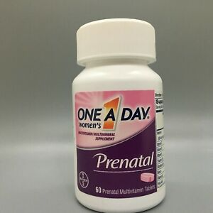 One A Day Women's Prenatal Multivitamin Tablets, 60 Ct, Exp. 5/21+