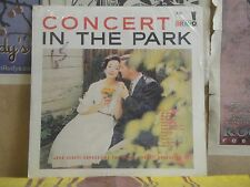 JOHN SENATI BRAVO POP ORCHESTRA CONCERT IN THE PARK - SEALED LP K-137 CHEESECAKE