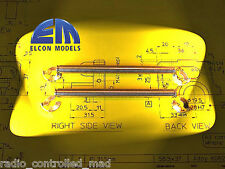 NEW Elcon 18814 Titanium Front Wishbone Pins FG Monster Stadium Beetle Hummer