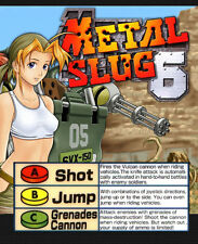 Metal Slug 6 Neo Geo Mini Arcade Marquee