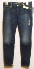 Guess Jeans Junior Beverly Skinny Zip Denim Jeans Fairytale Wash 31 NWT