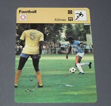FOOTBALL 1977 SEC BASTIA SECB FURIANI CORSICA LIONS MERRY KRIMAU