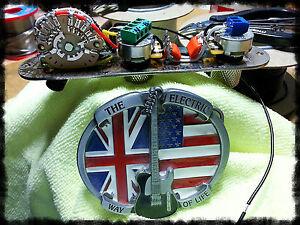 5 way SSOoP Fender Telecaster Tele control plate wiring harness upgrade kit